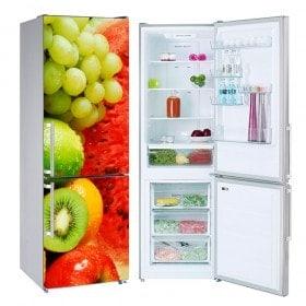 Autocollants collage fruits réfrigérateurs