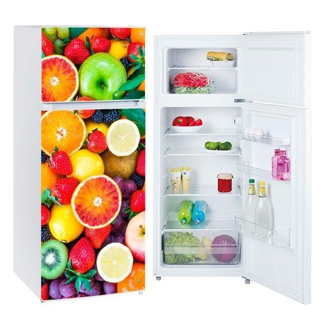 Vinyls pour les réfrigérateurs fruits