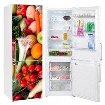 Vinyls pour les réfrigérateurs légumes et les fruits