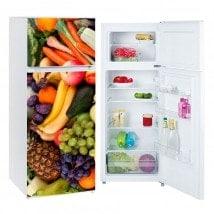 Vinyls pour les réfrigérateurs et les congélateurs fruits