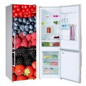 Collage vinyls fruits réfrigérateurs