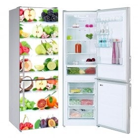Autocollants de fruits de refrigeration