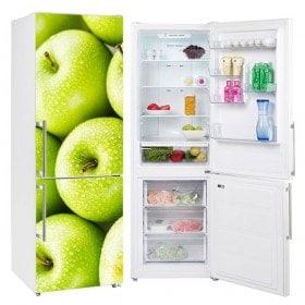 Autocollants pomme de refrigeration