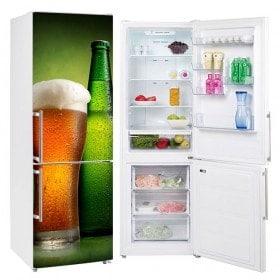 Autocollants de refrigeration bière fraîche