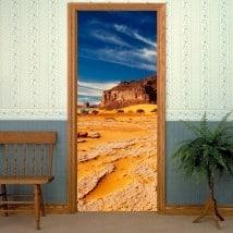 Vinyls portes du désert Sahara