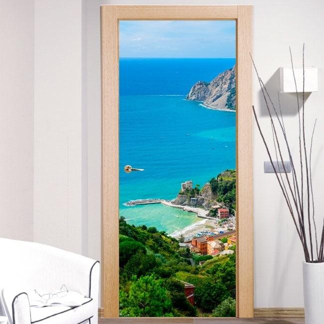 Vinyle pour portes Monterosso al Mare