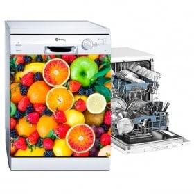 Autocollants et vinyle de fruits pour lave-vaisselle