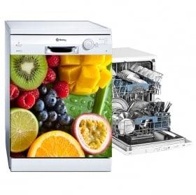 Stickers de fruits lave-vaisselle