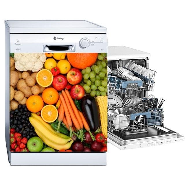 Vinyle pour lave-vaisselle fruits et légumes
