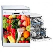 Autocollants lave-vaisselle légumes et fruits