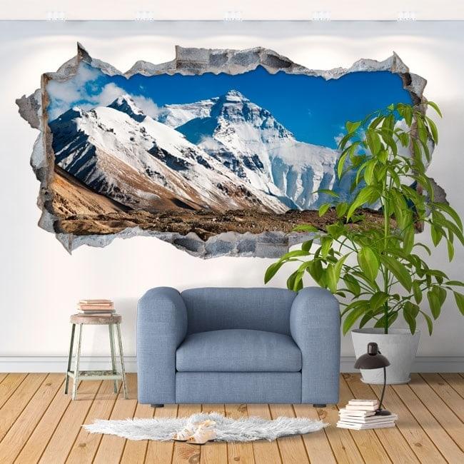 Stickers muraux 3d Everest