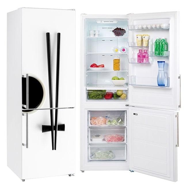 Autocollants pour frigorifiques baguettes