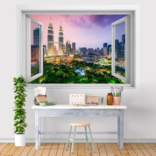 Fenêtres en vinyle 3D Kuala Lumpur Malaisie