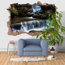 Stickers muraux 3D cascade Fervença Portugal