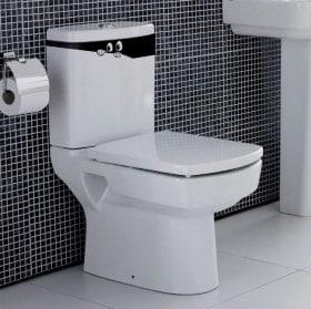 Vinyle pour salles de bains et murs yeux peeping
