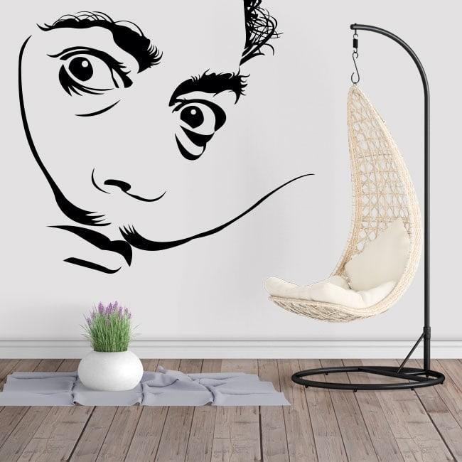 Autocollants muraux Salvador Dalí