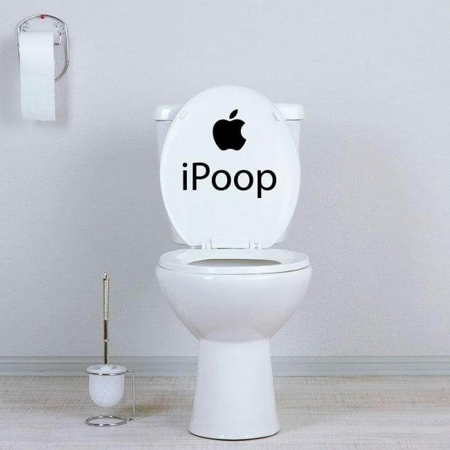Décalcomanies pour salles de bains et les murs iPoop