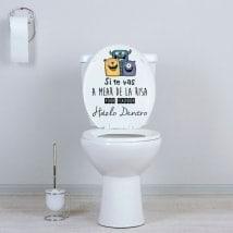 Toilettes WC si tu vas pisser de rire
