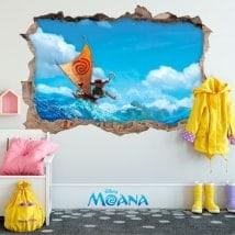 Vinyle pour enfants Disney Moana 3D