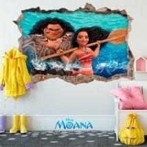 Disney vinyls Moana 3D