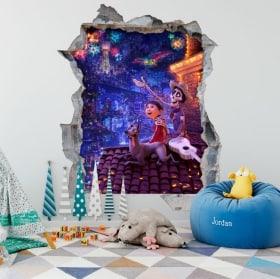 Vinyle 3D pour enfants Disney Pixar Coco