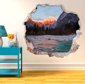Vinyle murs nature en Slovénie 3D