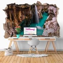 Vinyle cascades en Slovénie 3D