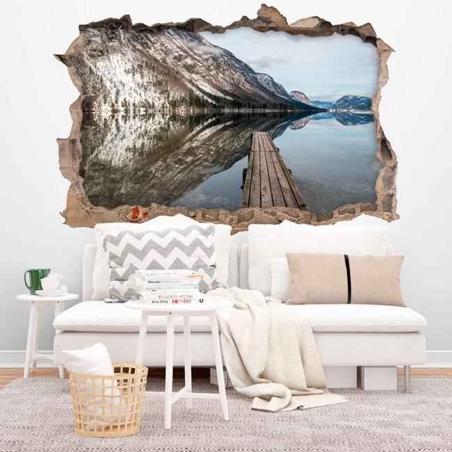 Vinyle lac Bohinj Slovénie 3D
