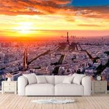 Papiers peints de vinyle ville de Paris
