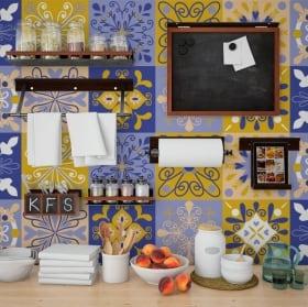 Vinyle décoratif tuiles murs