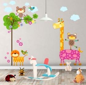 Vinyle pour enfants animaux nature
