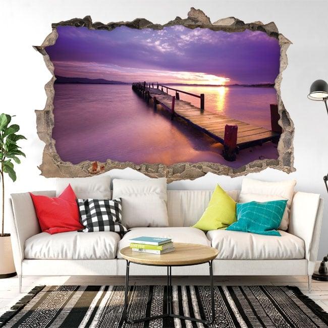 Vinyle décoratif couleurs du coucher du soleil