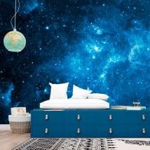 Papiers peints en vinyle étoiles dans le cosmos