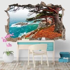 Vinyle cèdre dans Rocky Island 3D