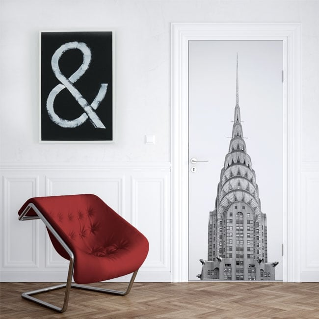 Vinyle pour les portes Chrysler tower New York