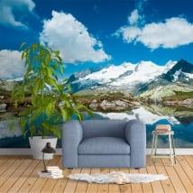 Papiers peints montagnes des Alpes Suisses