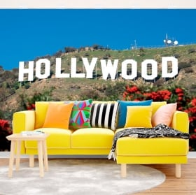 Papiers peints en vinyle signe d'Hollywood