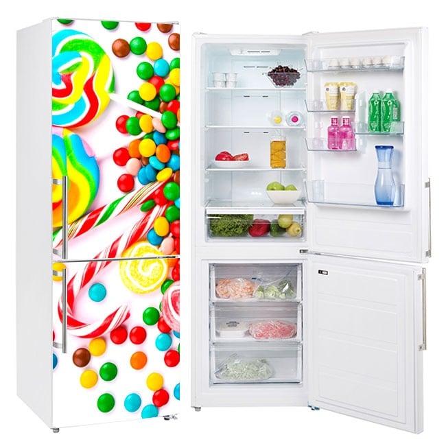 Vinyles pour réfrigérateurs et objets bonbons