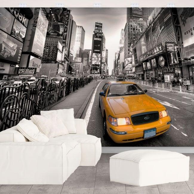 Autocollants murs New York Times square