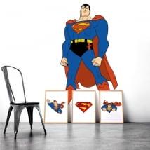 Vinyle et autocollants de superman