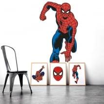 Vinyle décoratif murs spiderman