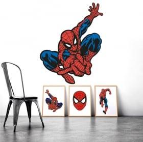 Autocollants vinyle spiderman