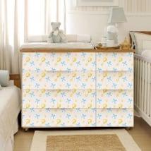 Vinyle pour décorer les meubles de bébé