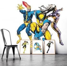 Vinyle décoratif murs x-men