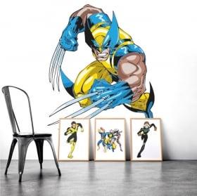 Vinyle décoratif wolverine x-men