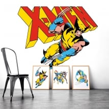 Stickers muraux x-men