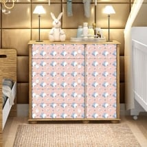 Vinyle décorer chambres de bébé