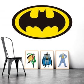Stickers muraux logo de batman