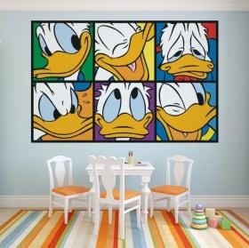 Vinyle pour enfants donald duck