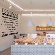 Vinyle décoratif fabrication de pain